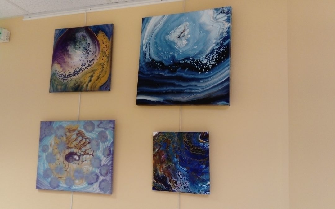 Exposition au CGS : L'art fluide par MarsEden