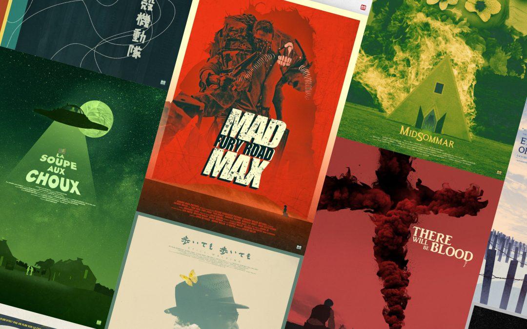 Exposition GOKAIJU : affiches alternatives de cinéma