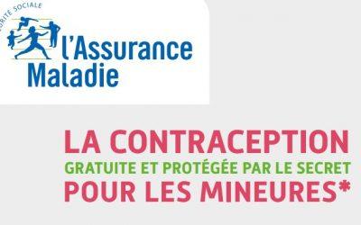 La contraception gratuite et protégée par le secret pour les mineures