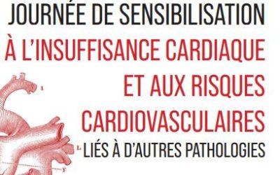 Mardi 28 septembre 2021 : Journée de sensibilisation à l'insuffisance cardiaque et aux risques cardiovasculaires liés à d'autres pathologies